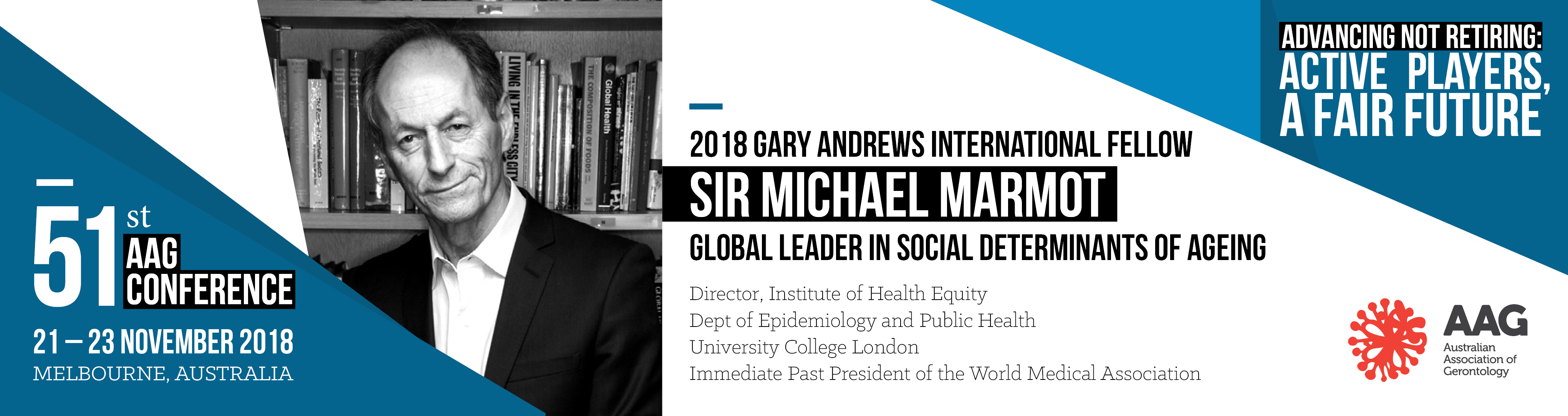 2018 Gary Andrews International Fellow