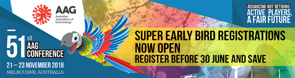 2018 Conference - Super Early Bird now open
