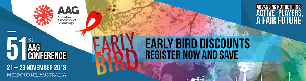 2018 Conference Early Bird now open